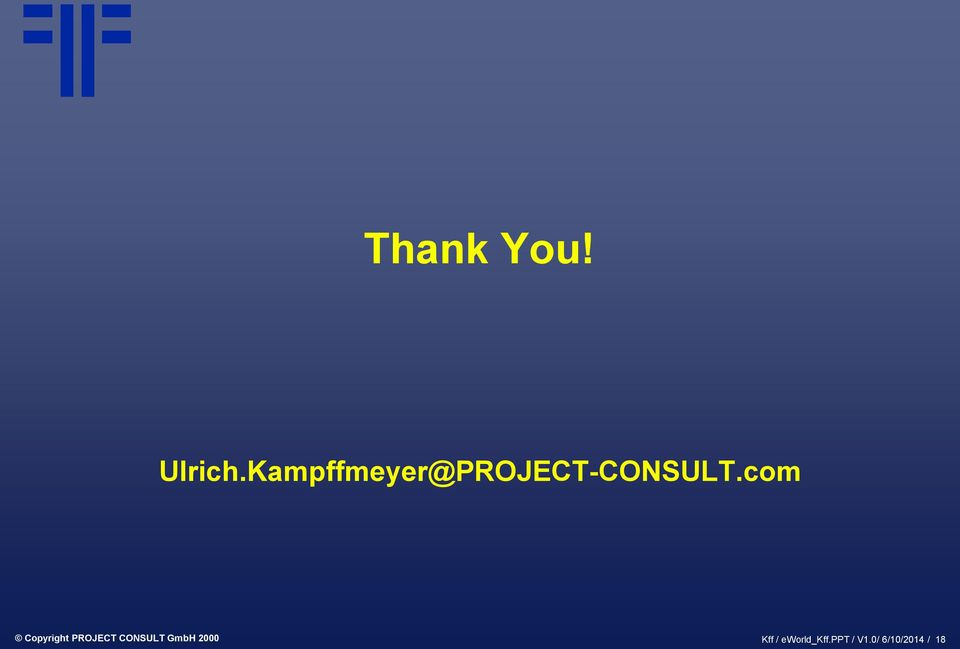 com Copyright PROJECT CONSULT