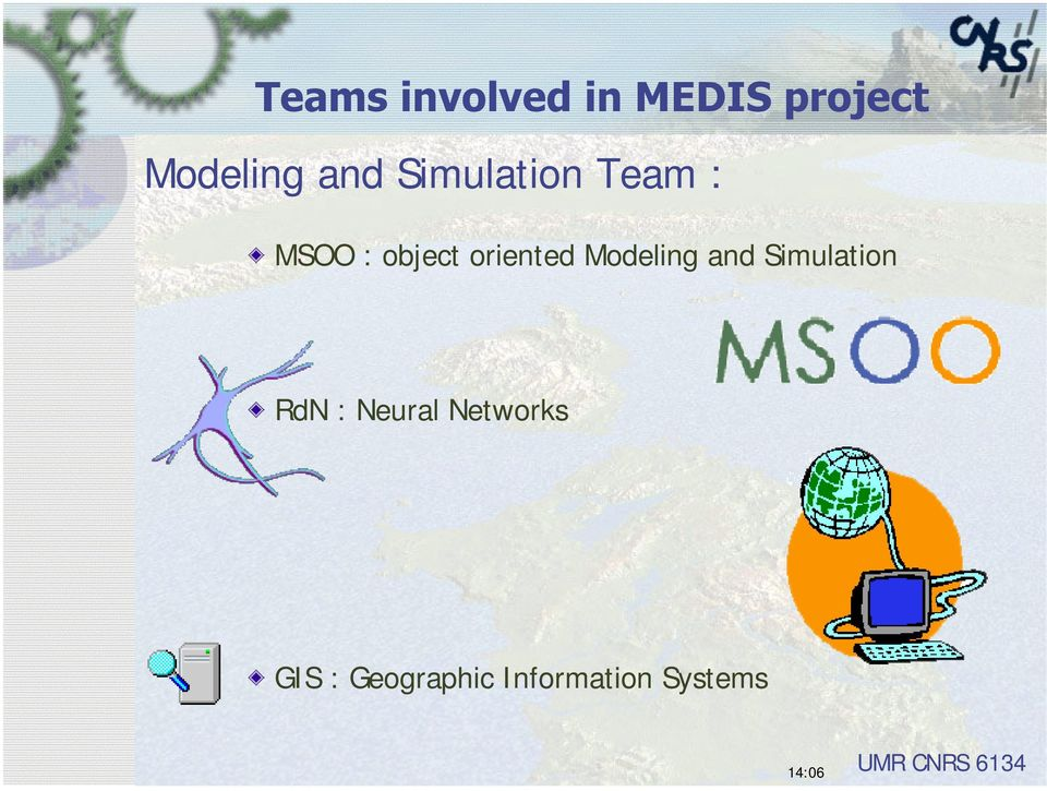 Modeling and Simulation RdN : Neural