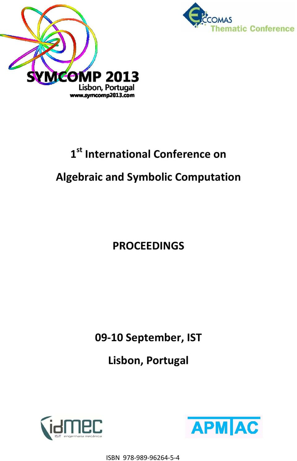 PROCEEDINGS 09 10 September, IST