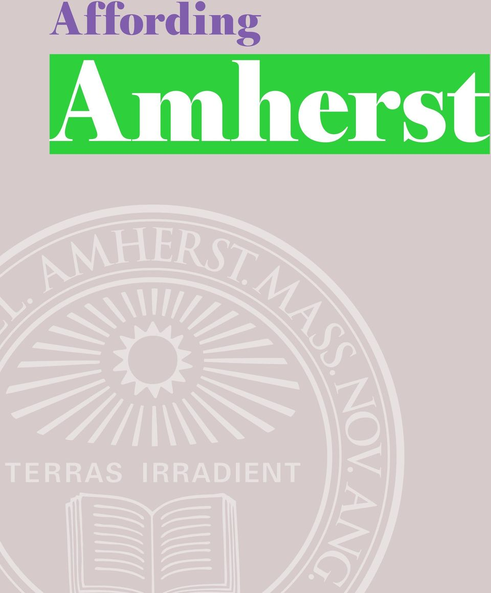 Amherst a