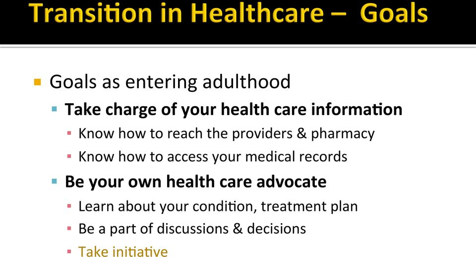 providers & pharmacy Know how to access your medical records!