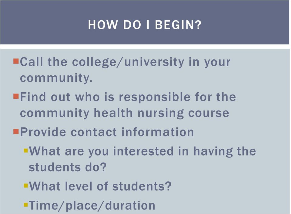 course Provide contact information What are you interested in