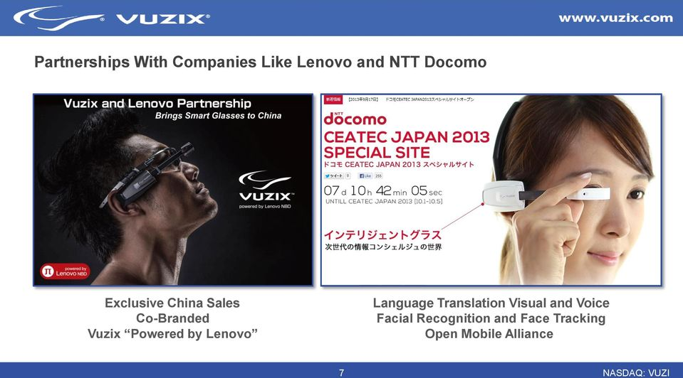 Powered by Lenovo Language Translation Visual and