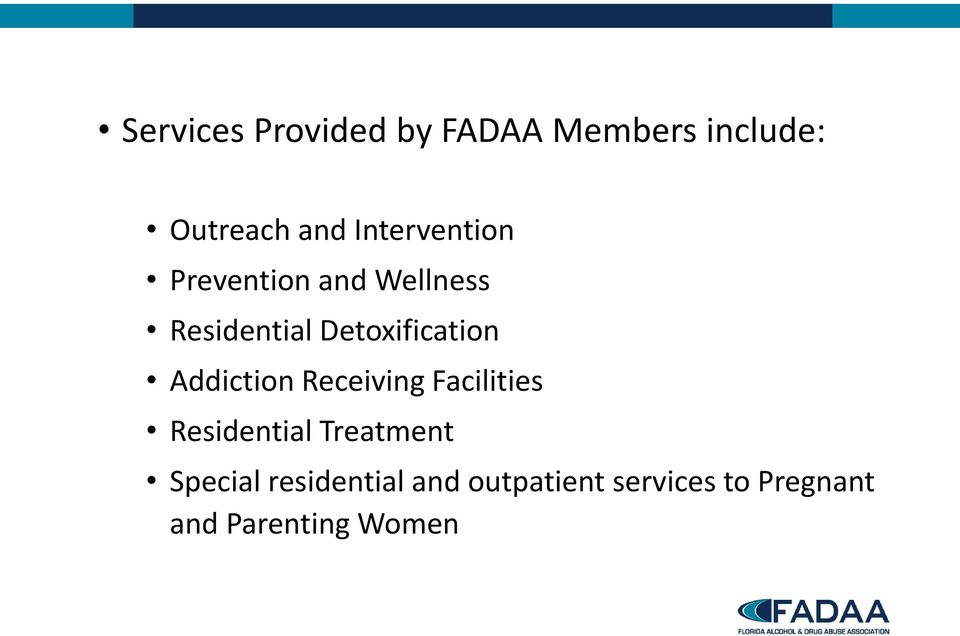 Detoxification Addiction Receiving Facilities Residential