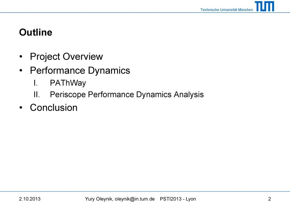 Periscope Performance Dynamics Analysis