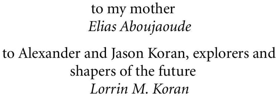 Jason Koran, explorers and