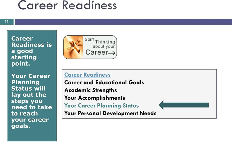 reach your career goals.
