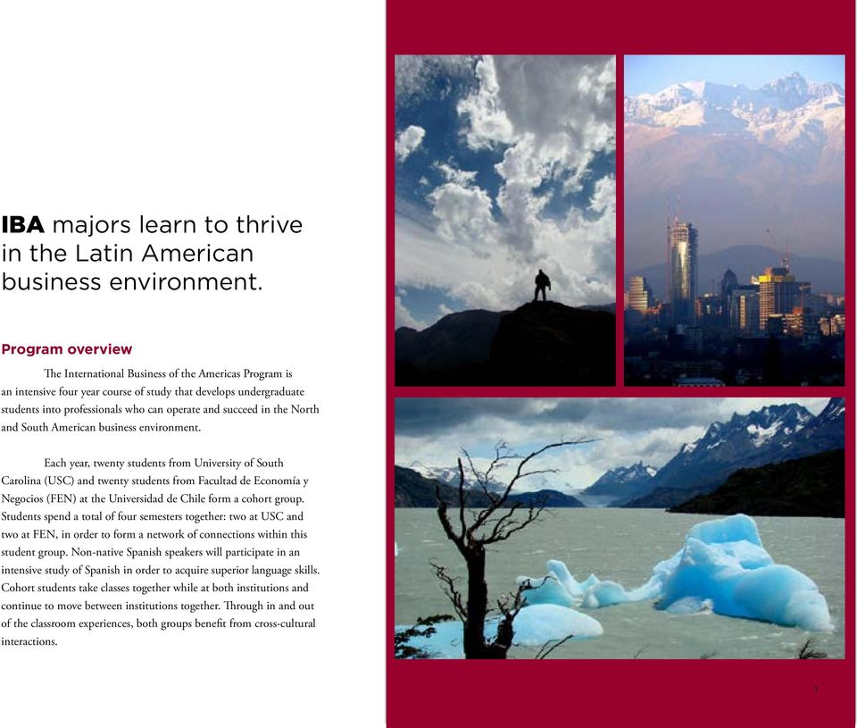 the North and South American business environment.