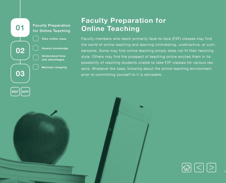 Some may find online teaching simply does not fit their teaching style.