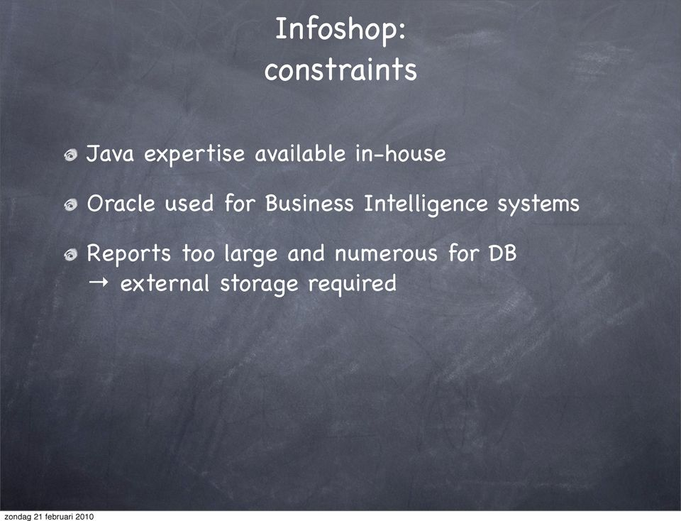 Business Intelligence systems Reports too