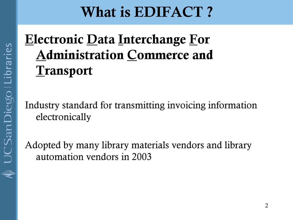 Transport Industry standard for transmitting invoicing