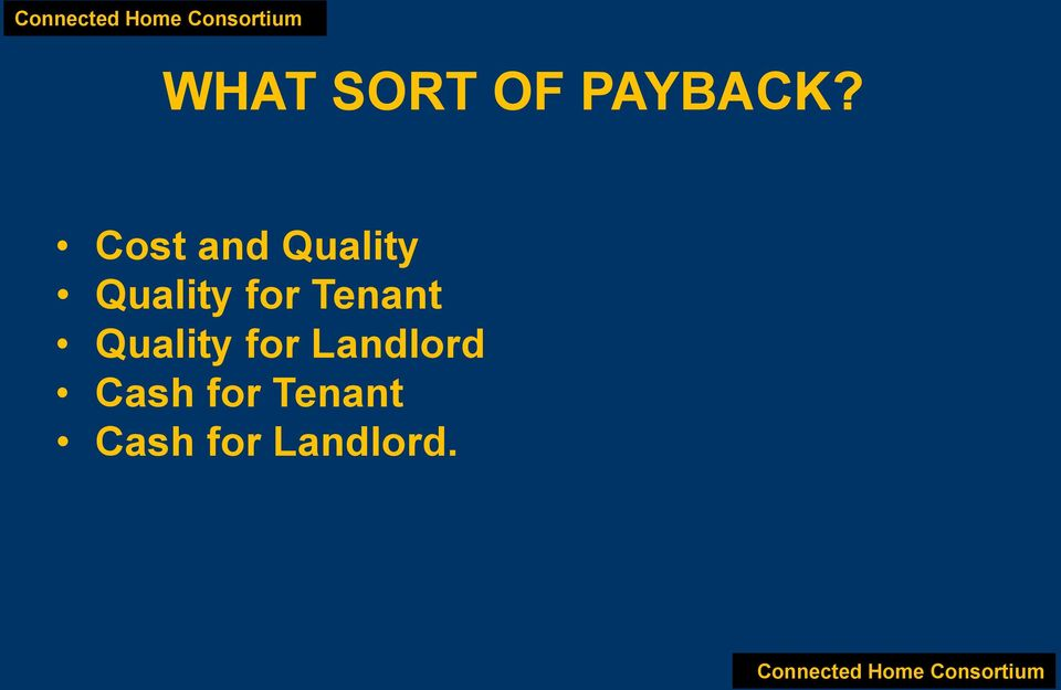 Tenant Quality for Landlord