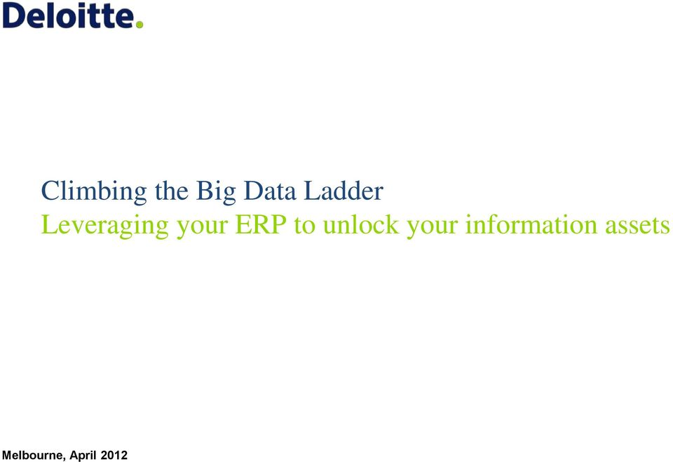 ERP to unlock your