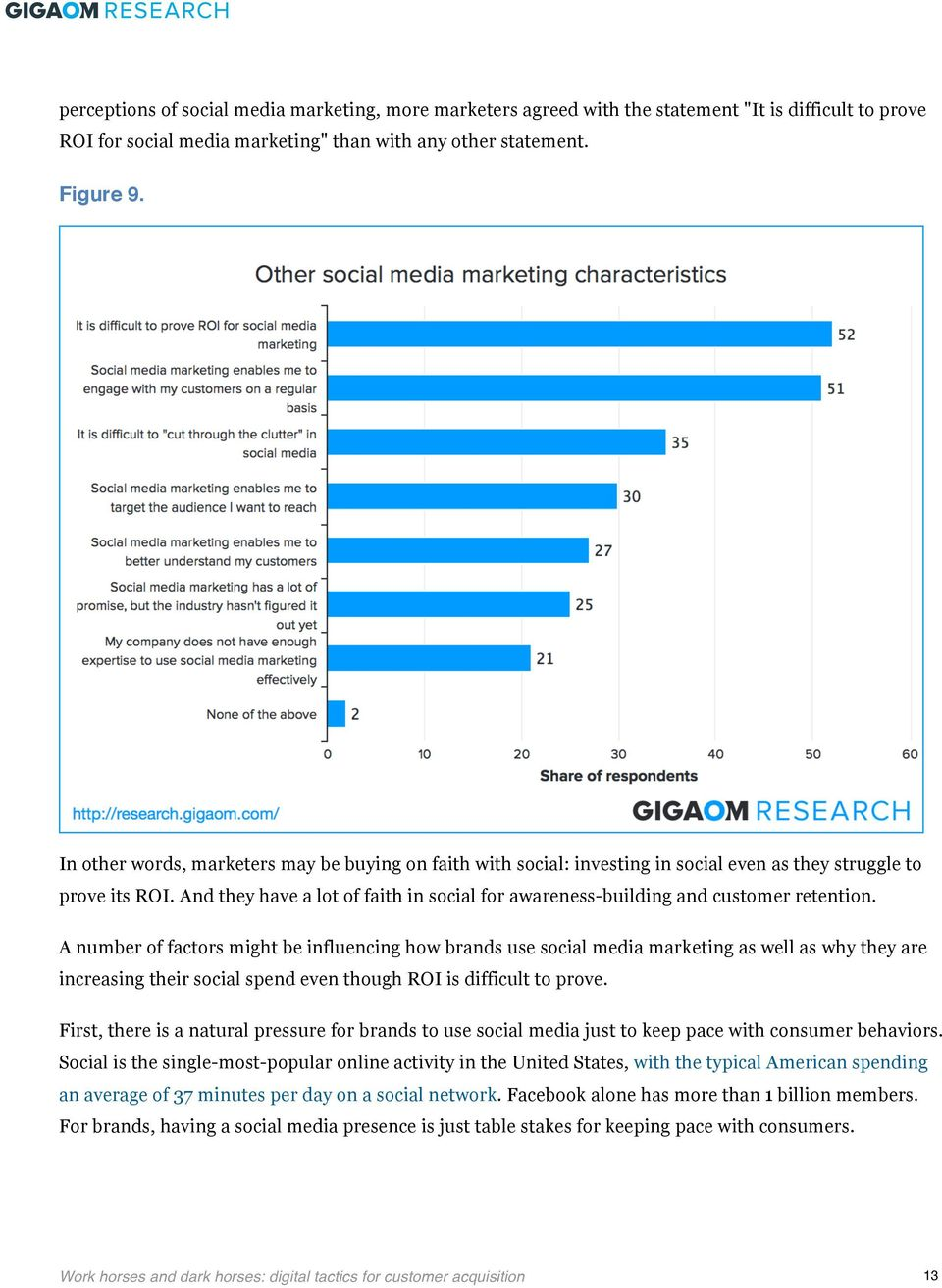 And they have a lot of faith in social for awareness-building and customer retention.