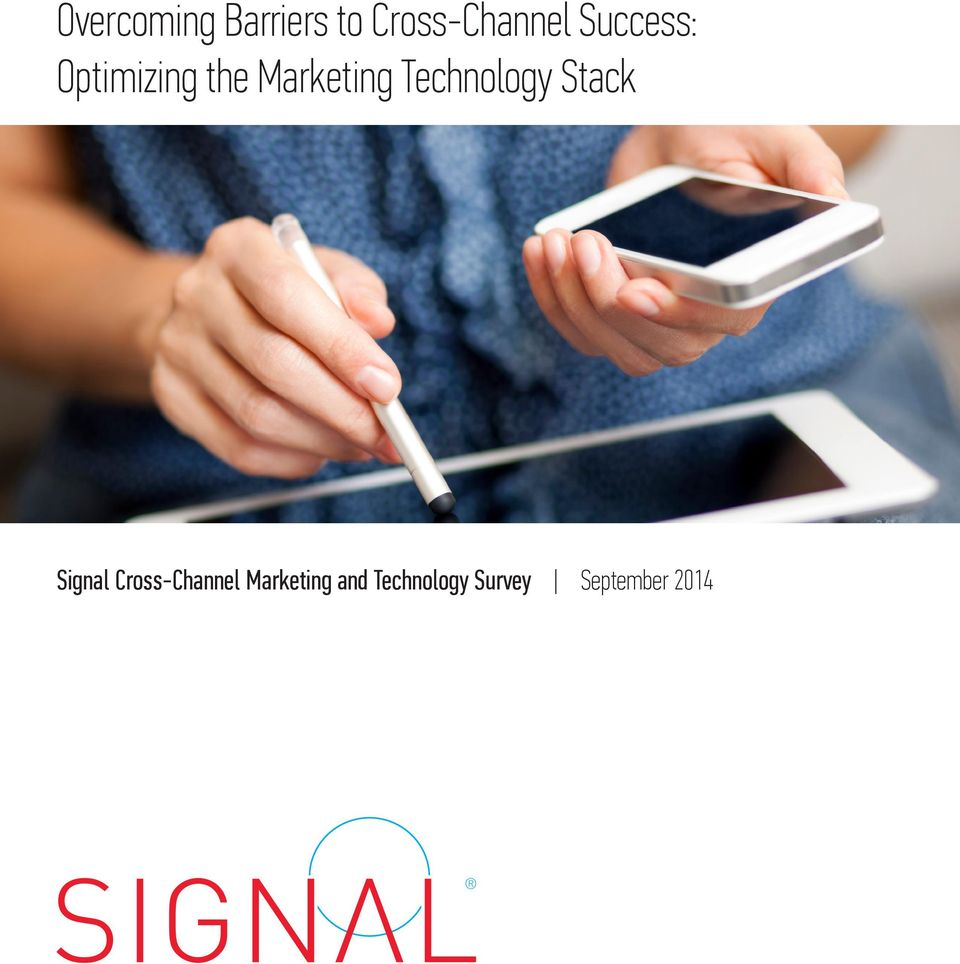 Technology Stack Signal Cross-Channel