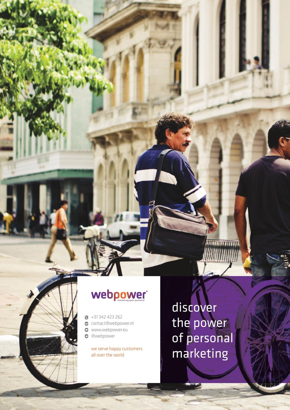 eu @webpower we serve happy
