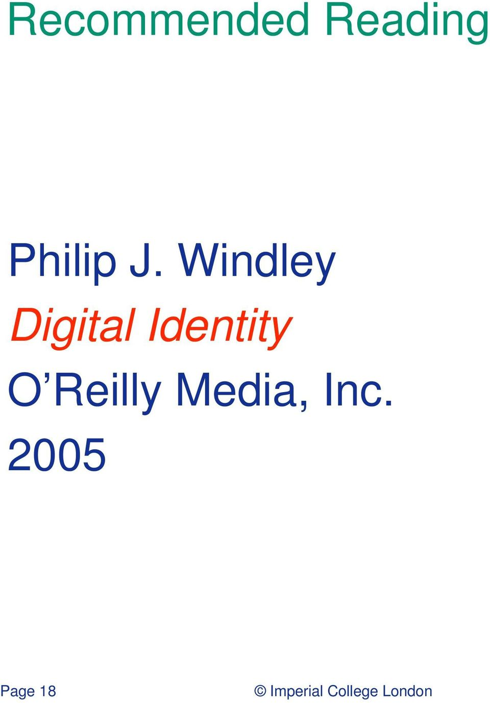Windley Digital