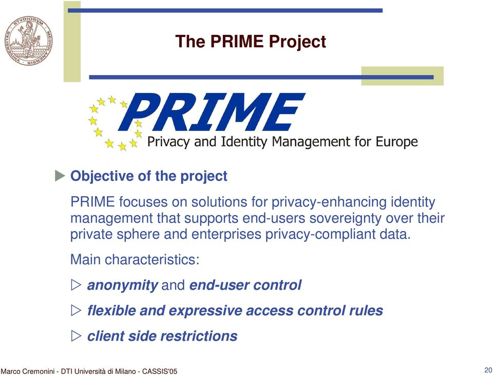 private sphere and enterprises privacy-compliant data.