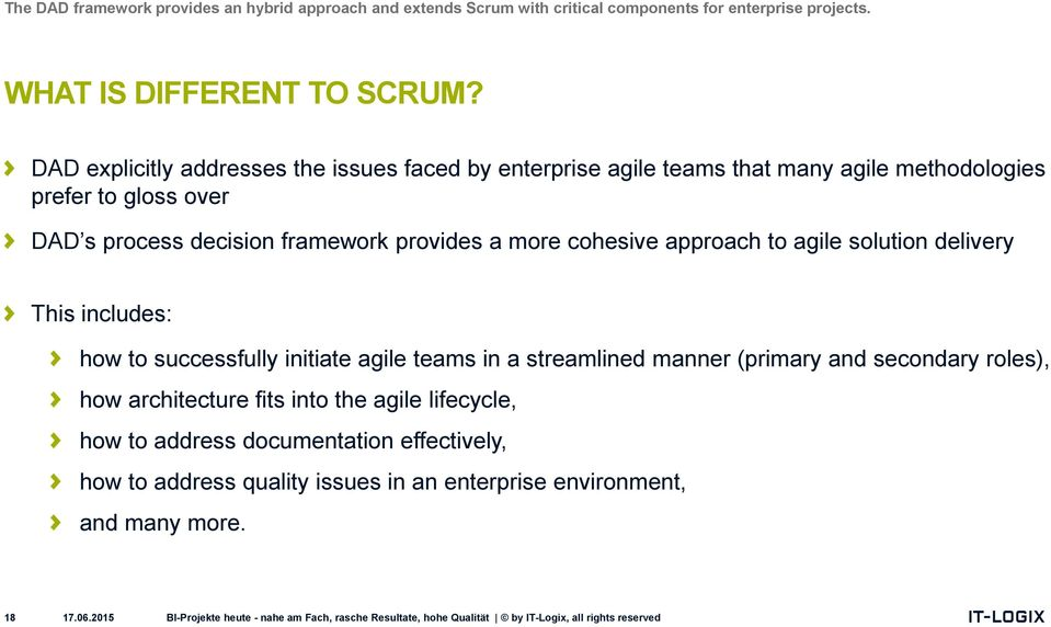 provides a more cohesive approach to agile solution delivery This includes: how to successfully initiate agile teams in a streamlined manner (primary and