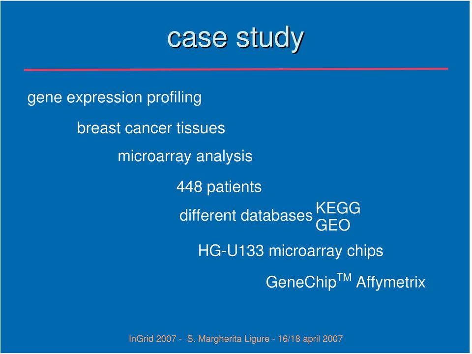448 patients different databases KEGG GEO