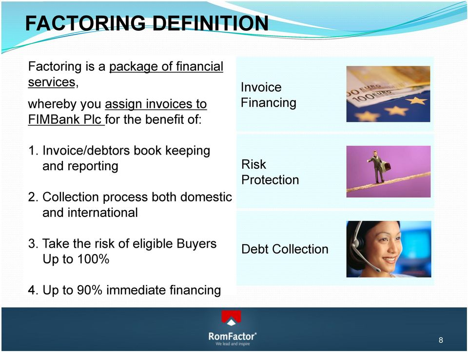 Invoice/debtors book keeping and reporting 2.