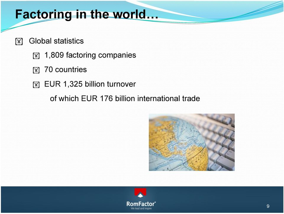 70 countries EUR 1,325 billion