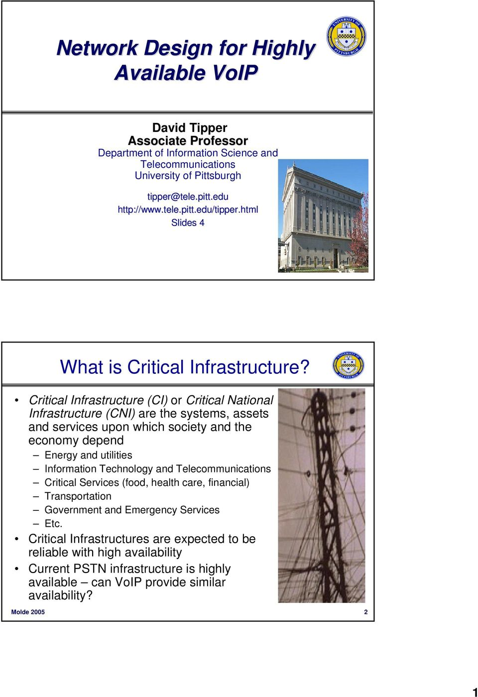 Critical Infrastructure (CI) or Critical National Infrastructure (CNI) are the systems, assets and services upon which society and the economy depend Energy and utilities Information