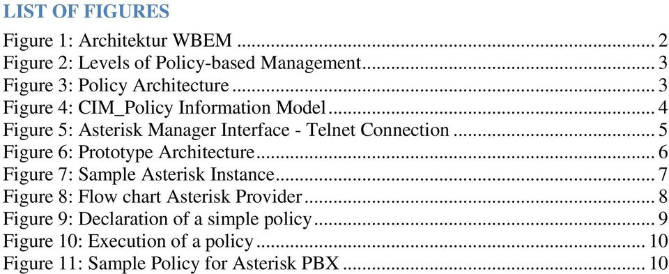 .. 4 Figure 5: Asterisk Manager Interface - Telnet Connection... 5 Figure 6: Prototype Architecture.