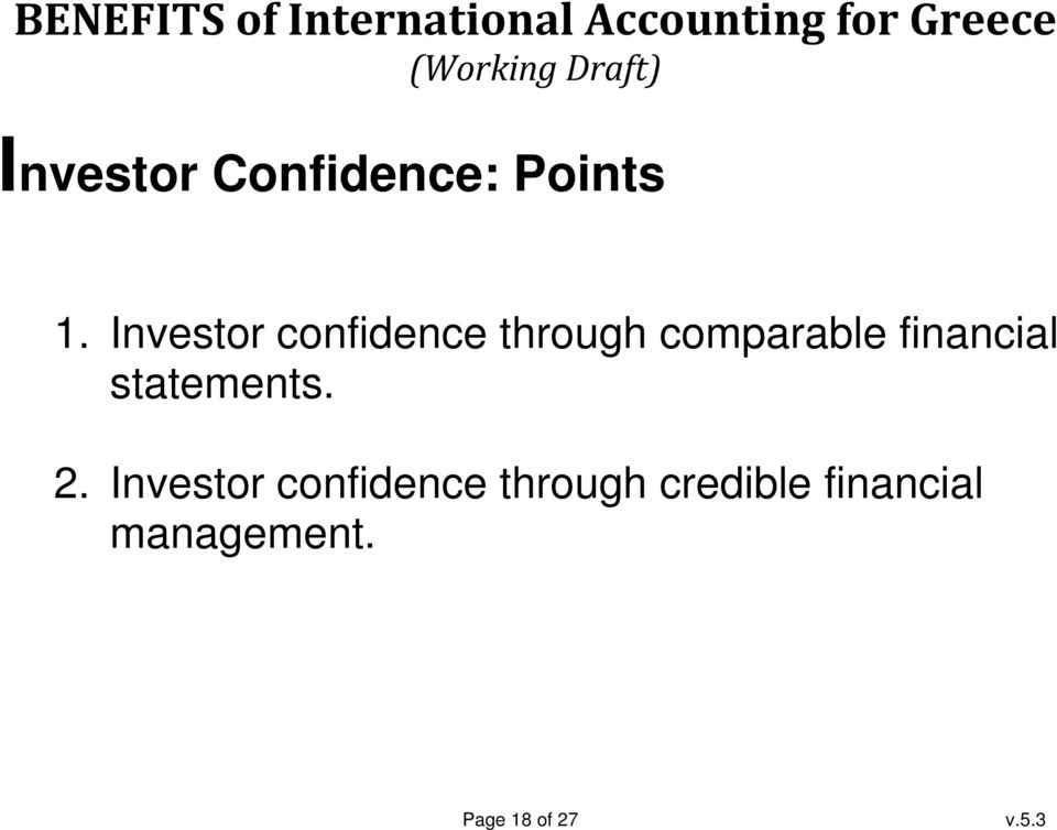 financial statements. 2.