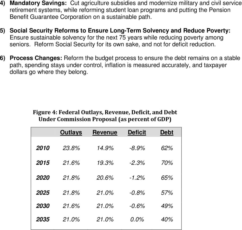 Reform Social Security for its own sake, and not for deficit reduction.