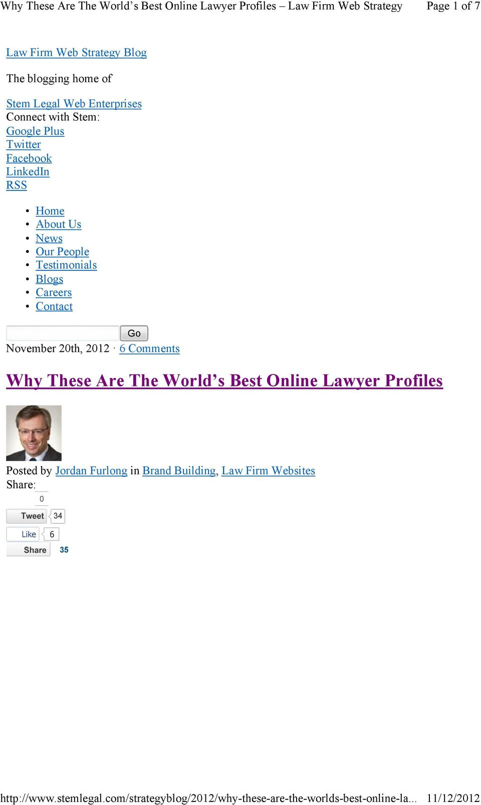 Blogs Careers Contact Go November 20th, 2012 6 Comments Why These Are The World s Best Online