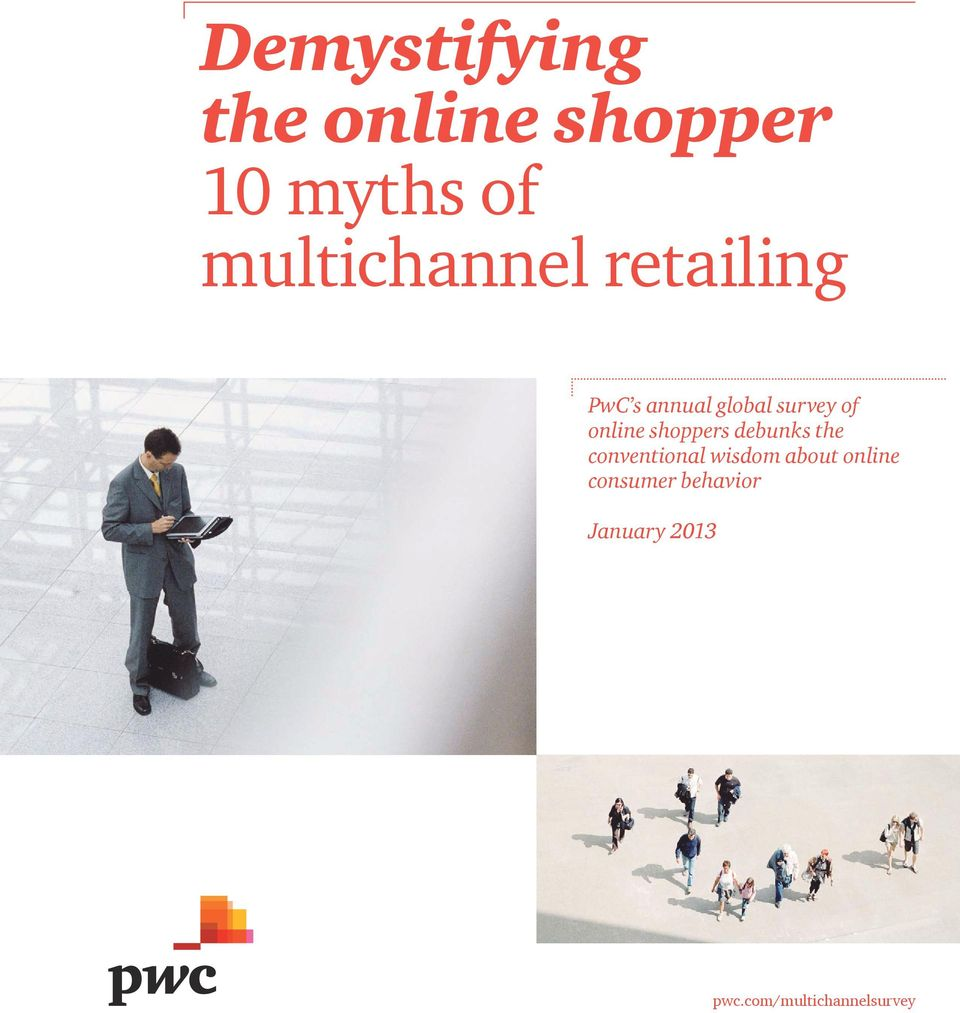 online shoppers debunks the conventional wisdom about