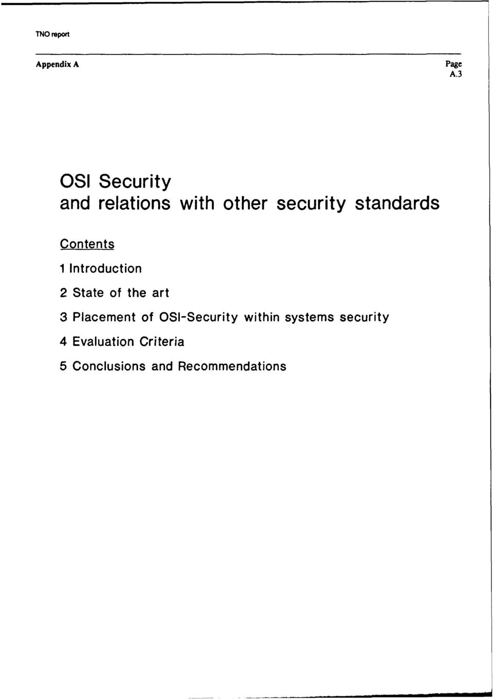 standards Contents 1 Introduction 2 State of the art 3