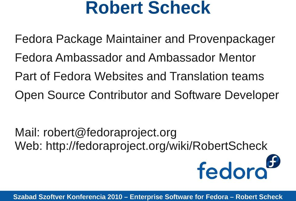 Translation teams Open Source Contributor and Software Developer