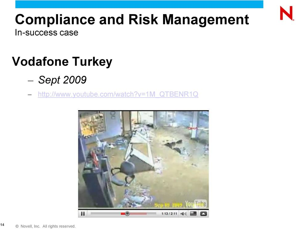 Vodafone Turkey Sept 2009