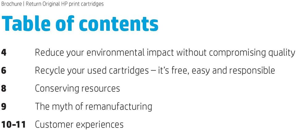 cartridges it s free, easy and responsible 8 Conserving