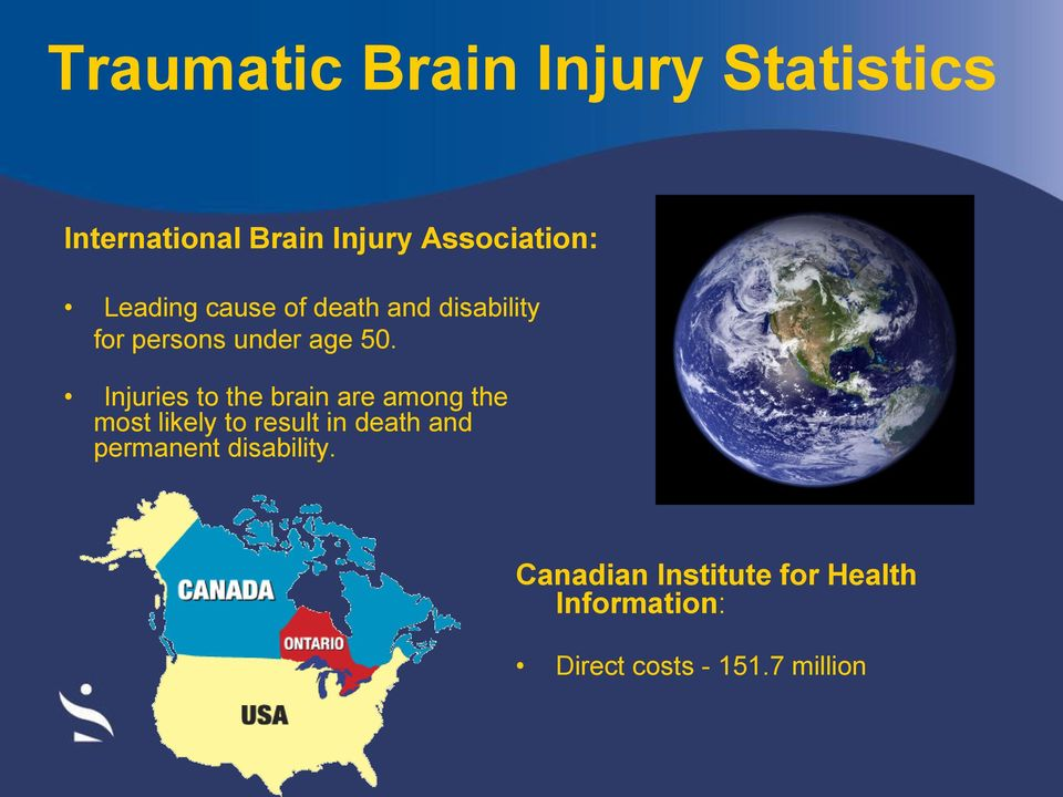Injuries to the brain are among the most likely to result in death and