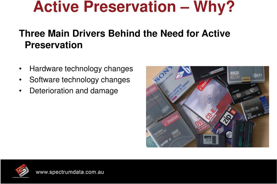 Active Preservation Hardware technology