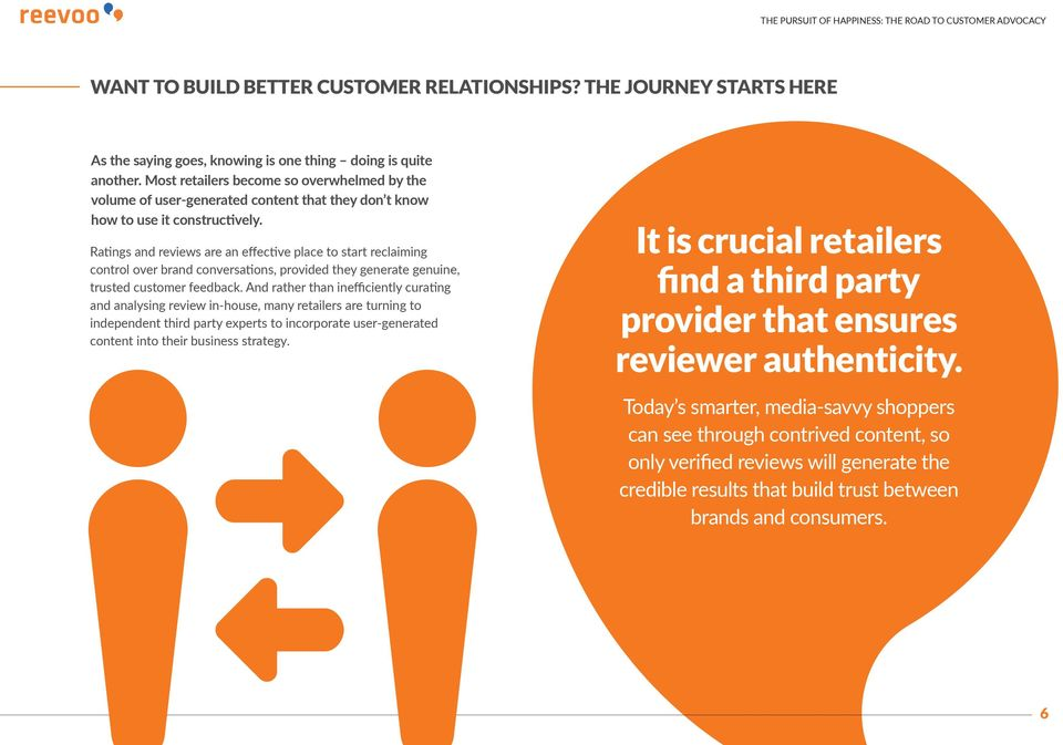 Ratings and reviews are an effective place to start reclaiming control over brand conversations, provided they generate genuine, trusted customer feedback.