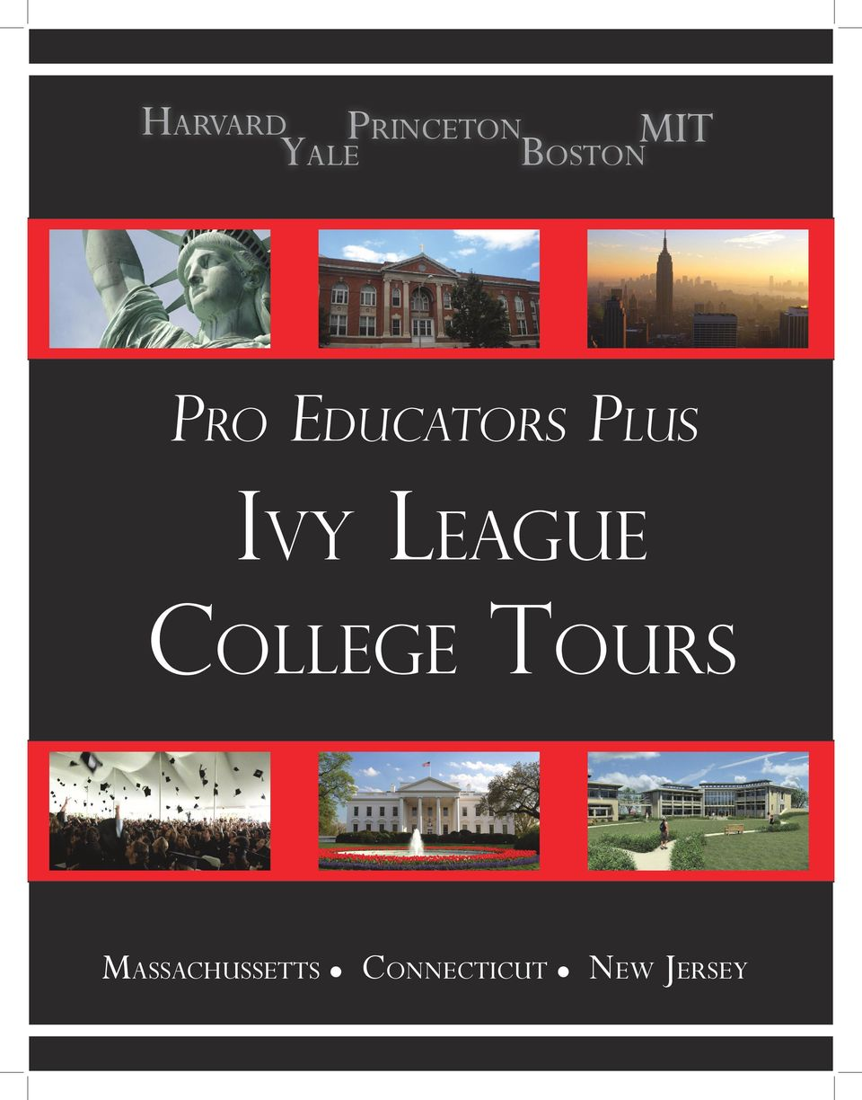 Ivy League College Tours