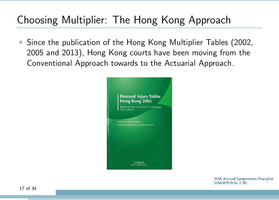 2005 and 2013), Hong Kong courts have been moving from