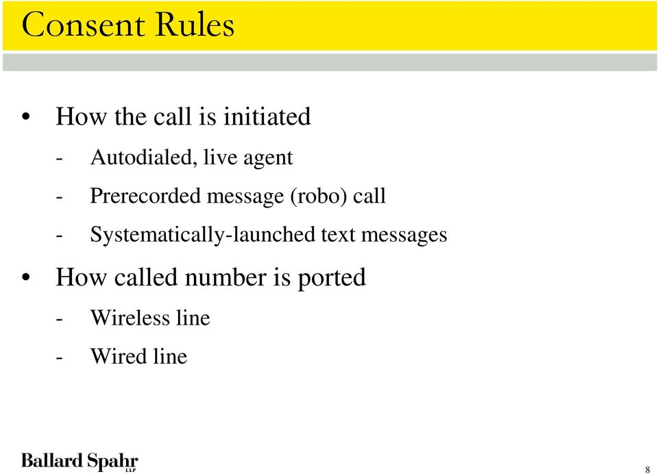 (robo) call - Systematically-launched text