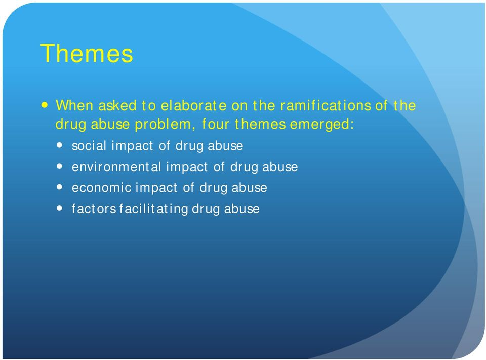 impact of drug abuse environmental impact of drug abuse