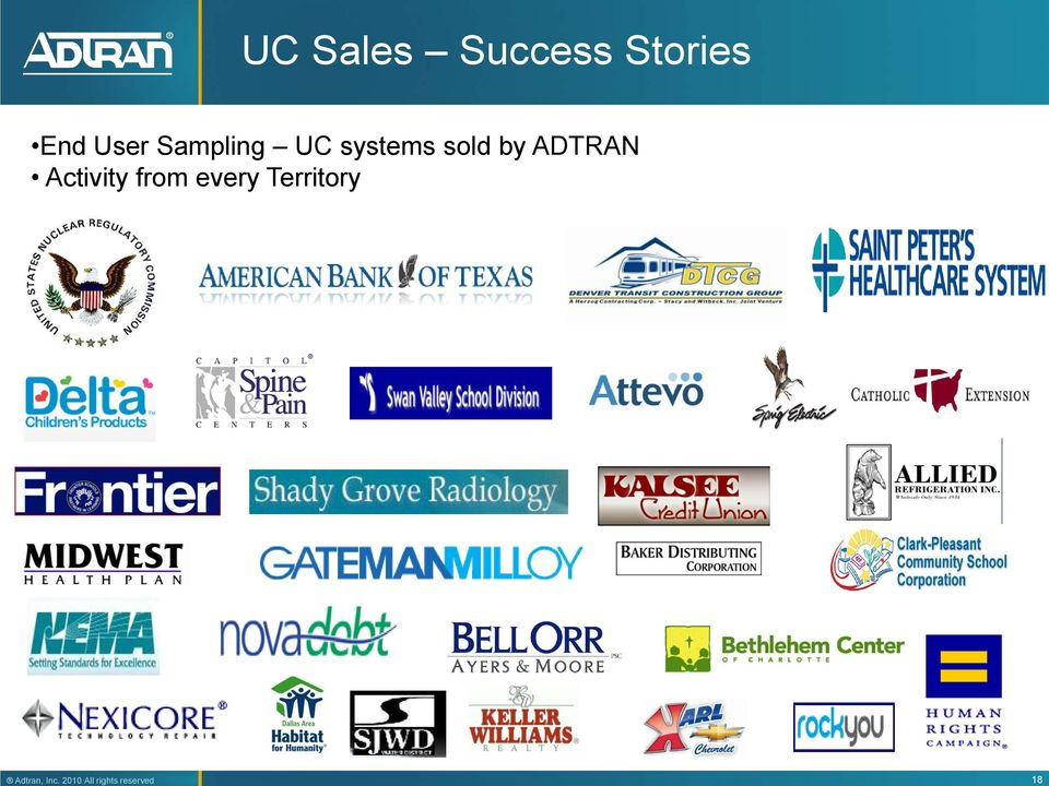 UC systems sold by ADTRAN