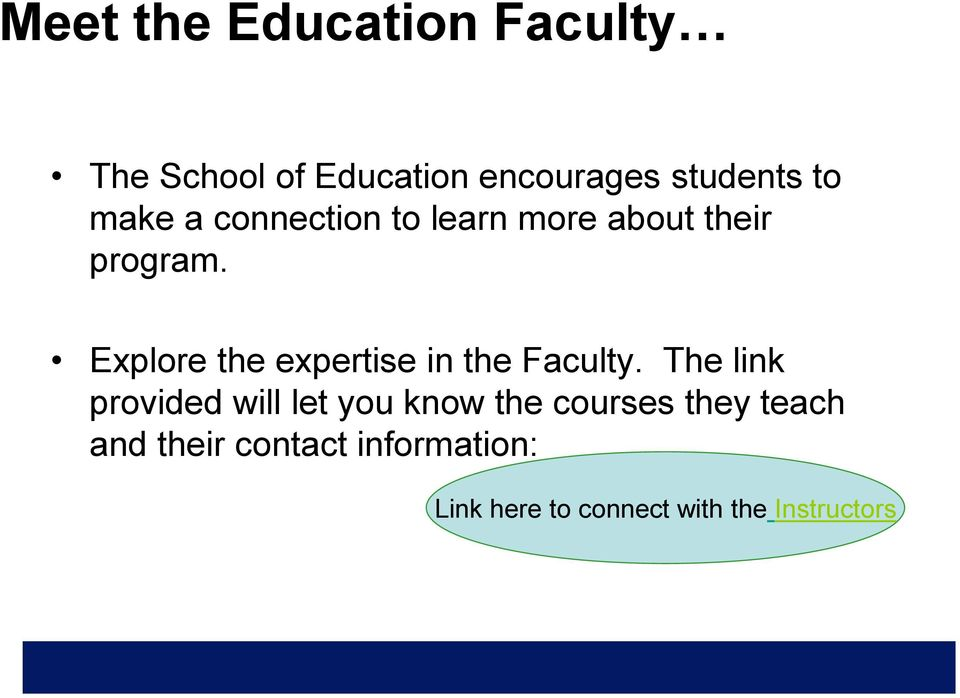 Explore the expertise in the Faculty.