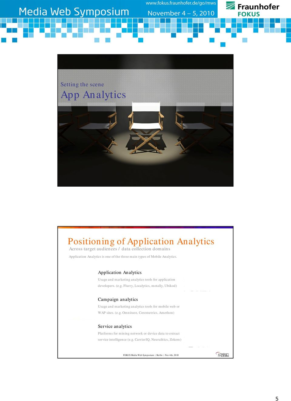 is one of the three main types of Mobile Analytics. Application Analytics Usage