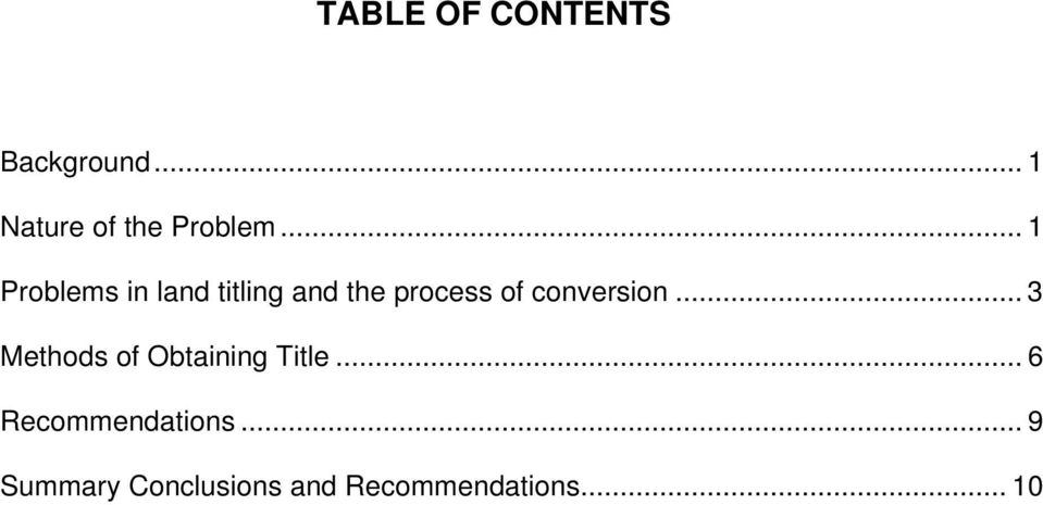 conversion... 3 Methods of Obtaining Title.