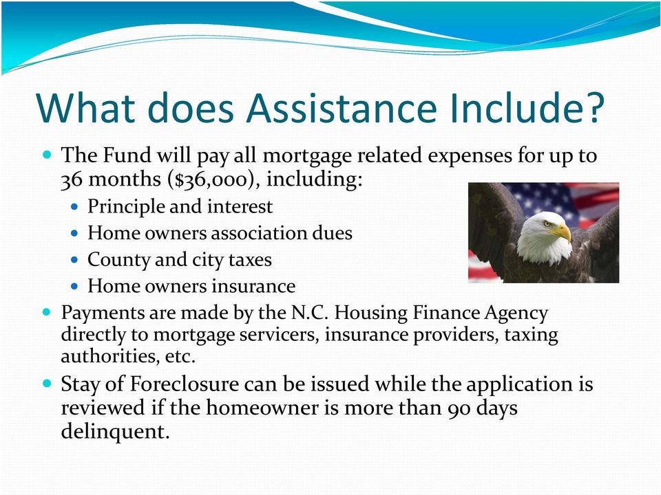 Home owners association dues Co
