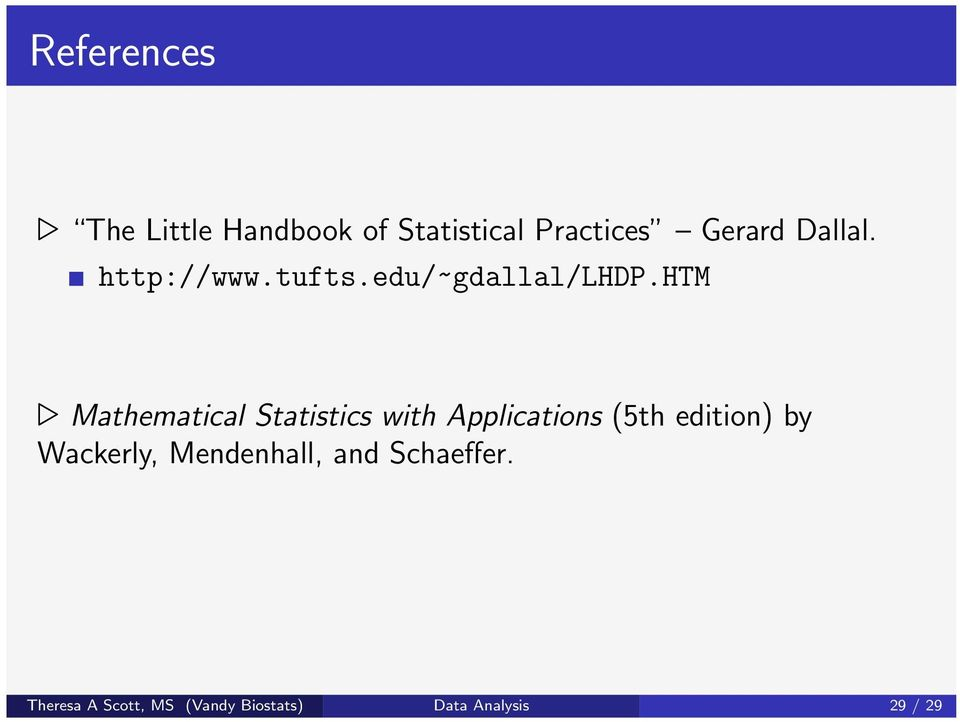 htm Mathematical Statistics with Applications (5th edition) by