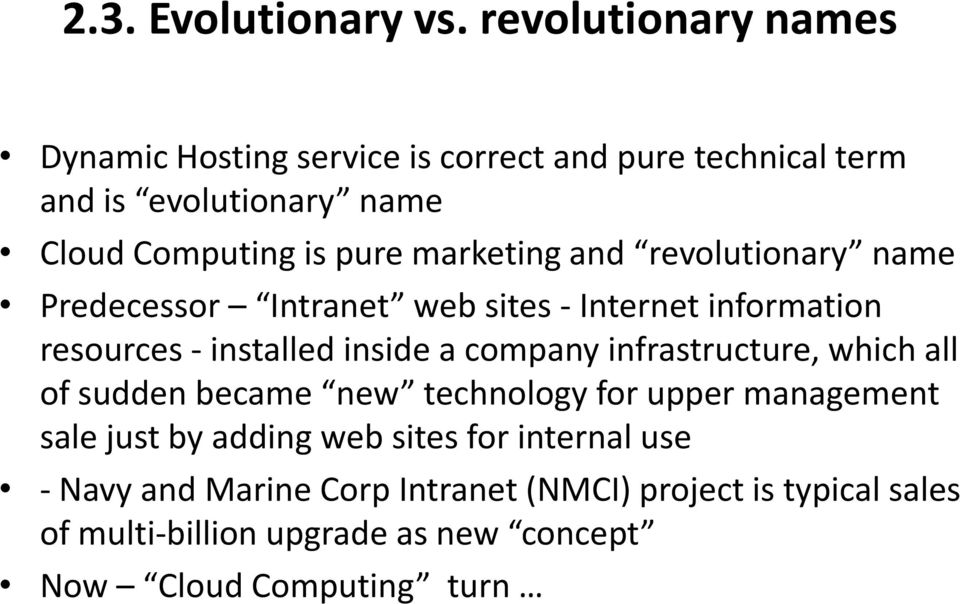 marketing and revolutionary name Predecessor Intranet web sites - Internet information resources - installed inside a company